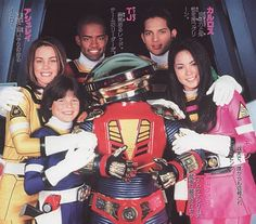 Helmetless Power Rangers (Actors in Suits) Power Rangers Turbo, Power Rangers In Space, Go Go Power Rangers, Michael Copon, Power Rangers Pictures, Vr Troopers, Power Rengers, Rangers Team, Go Busters