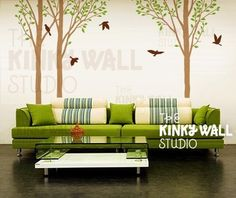 Vinyl Wall Decal Tree by Kinky Wall Studio contemporary decals