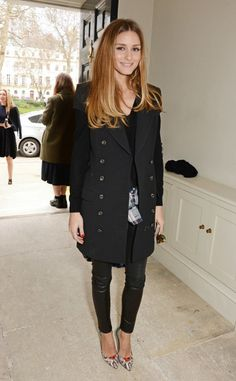 All black by Olivia Palermo