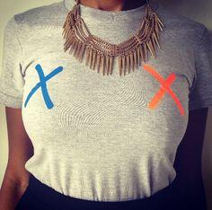 Put a little color on you !  #alexandroscasa #tshirt #tees #top #fashion #fashionista #mode #stylish #trendy #shop #knicks #colors