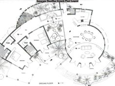 luxury floor plan ground floor - Google Search