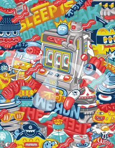 DXTR - Various Illustrations 2011 by DXTR , via Behance
