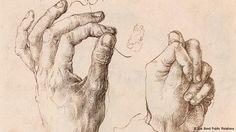 дюрер графика руки - Поиск в Google