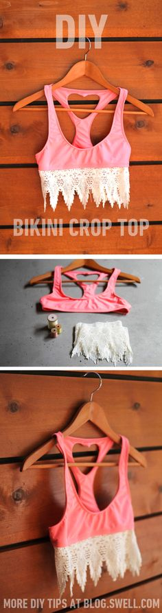 Do it yourself crop top! @SWELL
