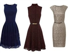 What to Wear: Fall Weddings Like the outer two What To Wear Fall, How To Wear, Chic Dress, Dress Up, Chic Outfits, Formal Outfits, Wedding Outfits, Fall Cocktail Dress, Fall Wedding