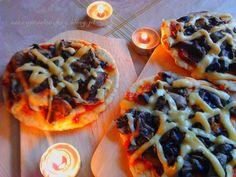 Pajęcze pizzerinki z patelni PRZEPIS