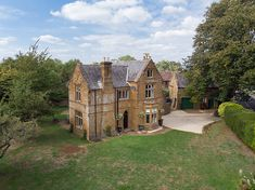 Country house in the north eastern Cotswolds, England