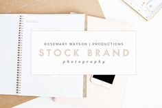 Blush Desk & iPhone Stock Photos by RW | Productions on @creativemarket