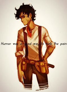 So I made an edit of Leo Valdez from The Heroes of Olympus series. (By Olivia The Observer Wheeler original art by Viria.) (If you repin keep the credit.)