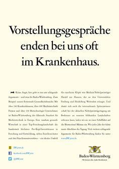 Keine Angst, hier geht es nur um schlagende Argumente – und zwar für Baden-Württemberg. No Fear, Freiburg, Medicine, Advertising, Bathing