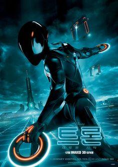 Tron Legacy Movie Poster Korean Starwars Cosplay Anime Science Fiction Fiction