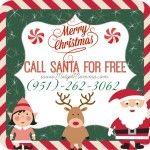 call santa for free with his personal phone number Kiddos will love having Santa's phone number and having a free santa call