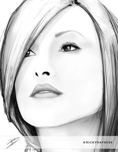 She's supposed to be Olivia Wilde, but I'm not sure it looks like her anymore! :P