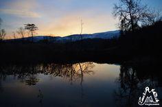 'alba è forse il momento migliore della giornata e viverla in montagna è ancora più sorprendente! Foto scattata a San Valentino in Abruzzo Citeriore, località Cannefischie da Marcello Natarelli @Majellando