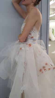 Monique Lhuillier Spring 17 Bridal