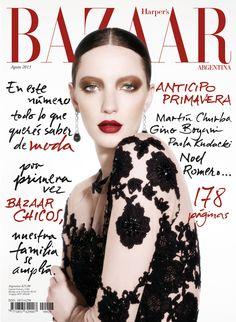 Milagros Schmöll for Harper's Bazaar Argentina August 2013
