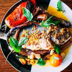 This Delicious Fish Dish Is Faded on Wine and Chilies