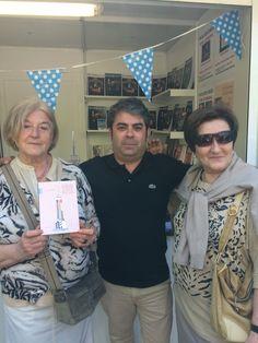 Firma de ejemplares en la Feria del Libro de Zaragoza. 31.05.2015 #Esbozers