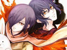 Touka and Ayato Art by シシ