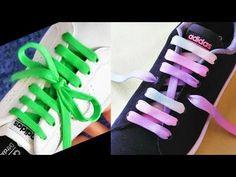 Ways To Lace Shoes, Creative Shoes, Tie Shoelaces, Cute Pillows, Tie Shoes, Grandkids, Diy Clothes, Knots, Adidas Sneakers