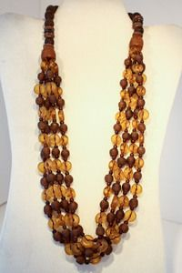 Twisted Recycled Bead Necklace #fairtrade #worldpeaces