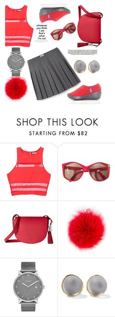 """""""Girly"""" by dollz-n-donz ❤ liked on Polyvore featuring T By Alexander Wang, Christian Dior, Lauren Ralph Lauren, Furla, Skagen, Alexis Bittar and Industrie"""