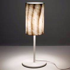 Fiamma Marble Table Lamp at Urban Avenue | http://urbanavenue.co.uk
