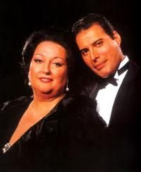 BARCELONA Freddie Mercury & Montserrat Caballe