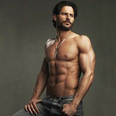 Hot werewolf anyone? Joe Manganiello aka Alcide Herveaux from True Blood...yummy!