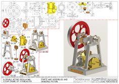 Mechanical Engineering Design, Mechanical Design, Plan Design, 3d Design, Solidworks Tutorial, Video Game Rooms, 3d Pen, Object Lessons, 3d Drawings