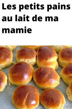My grandma's milk rolls Healthy Breakfast Recipes, Yummy Snacks, Healthy Dinner Recipes, Croissants, Vegan Thermomix, Algerian Recipes, Arabic Dessert, Cooking Chef, Bread Baking