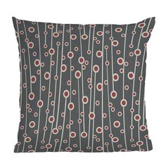 DENY Designs Heather Dutton Berry Branch Throw Pillow | Pure Home