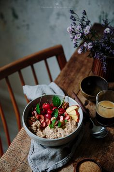 """delta-breezes: """"Overnight Cherry Oats 