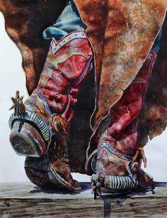 Nelson Boren/Grandpa's Old Steer Boots