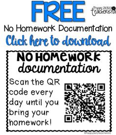 I might have to try this. It would be a great way to easily track why and when a student doesn't turn in homework.