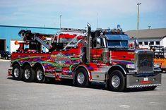 Heavy Duty Trucks, Big Rig Trucks, Heavy Truck, Tow Truck, Semi Trucks, Cool Trucks, Custom Big Rigs, Custom Trucks, Truck Detailing