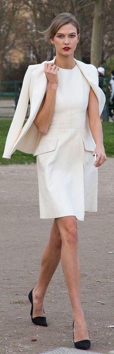 Karlie Kloss in Paris.