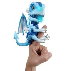 Fingerlings Untamed Dragon – Series 1 – Freezer (White) – By WowWee Leo, Dragon Series, Cool Toys, Freezer, Beast, Creatures, Animation, Cute, Walmart