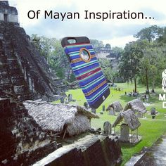 Mayan case iphone 6 case in Tikal.