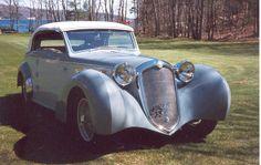 1939 Alfa Romeo 6C2500 Cabriolet 4-passenger right-hand drive