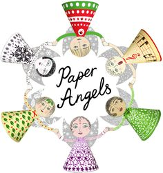 paper angels template