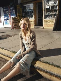 Guinevere van Seenus by Matteo Montanari for Self Service Magazine Spring Summer 2016 (6) • Minimal. / Visual. • Fashion Photography, Models, Street Style