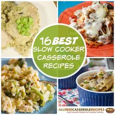 Our collection of slow cooker casserole recipes includes chicken casserole recipes, ground beef casserole recipes, dessert casseroles, and more. No matter what kind of slow cooker chicken recipes you're craving, you're bound to satisfy your cravings with this delicious list.