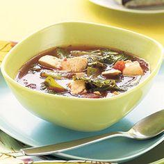 Chicken-Escarole Soup   MyRecipes.com