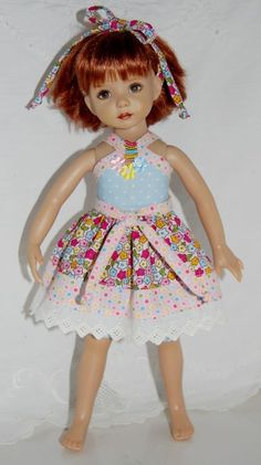 "~*~Summertime Fun~Pretty Posies Mix~fits 13"" Effner Little Darling~*~   So cute!"