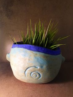 Face Planter by MuddyRiverClay on Etsy