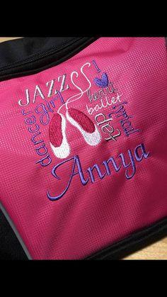Ballet monogrammed duffel, personalized Dance duffel, personalized Swim bag,  personalized Gymnastics bag, personalized team bag, Jazz dancer 4a35252398