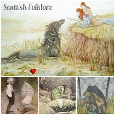 Supernatural Creatures in Scottish Folklore …this is a list of them.  There are many supernatural creatures to be found in Scottish/Gaelic  folklore, Scotland has a rich Culture  going back o…