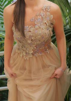 Beaded gown - vestido  Patricia Bonaldi