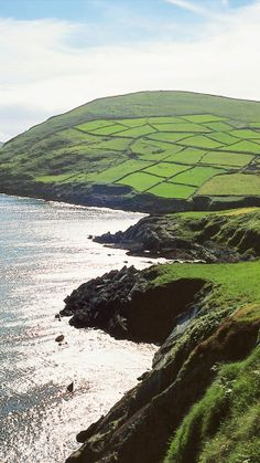 #Ireland isn't dubbed the Emerald Isle for nothing.